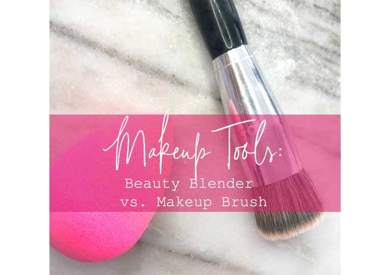 2Beauty Blender vs. Makeup Brush