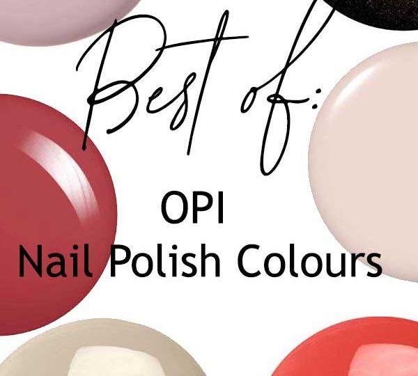 Best of OPI Nail Polish Canada