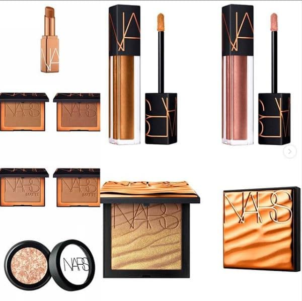 NARS Spring 2020 Bronze Collection
