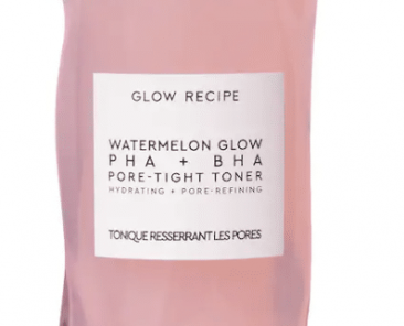 Watermelon glow Recipe pore tight toner review and dupes