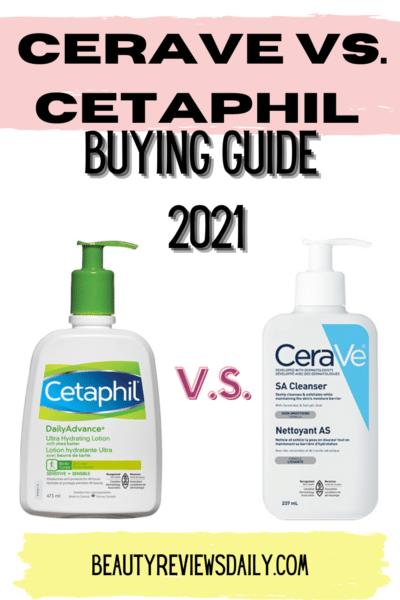 Cetaphil vs. Cerave