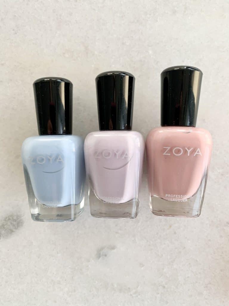 Pastel Nail Polish by Zoya Swatches