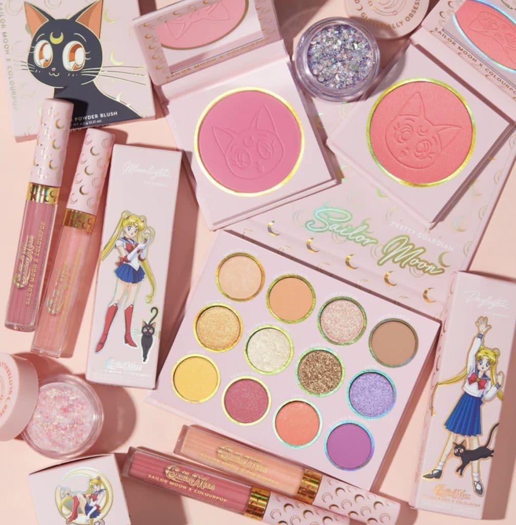 Sailor moon ColourPop collaboration