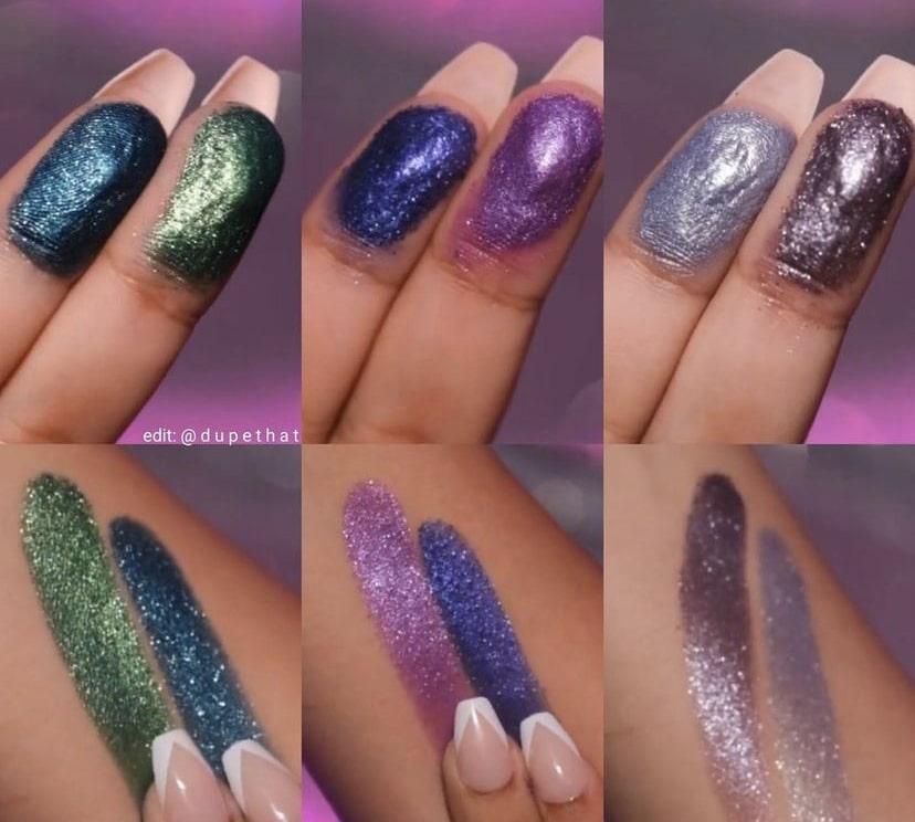 Swatches of Mikayla x Glamlite