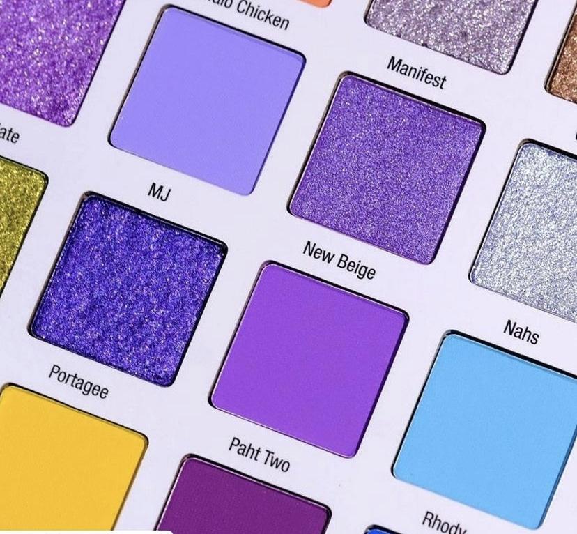 Mikayla x Glamlite Sample Shades