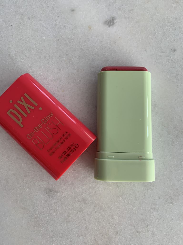 Pixi beauty on the glow blush review and dupe