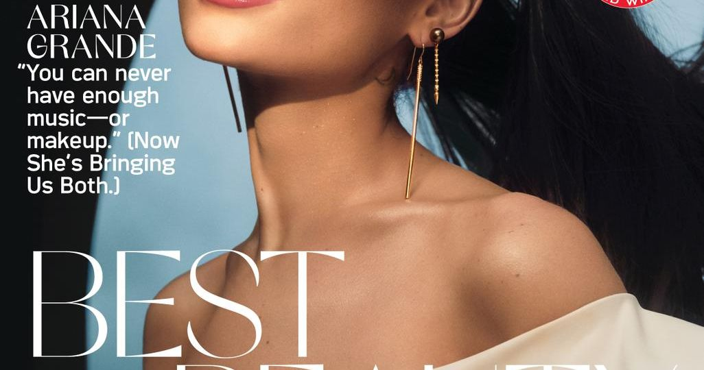 Ariana Grande Allure Oct 2021 Cover 7